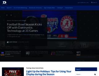 blog.daktronics.com screenshot