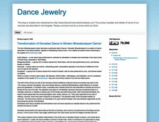 blog.dancecostumesandjewelry.com screenshot