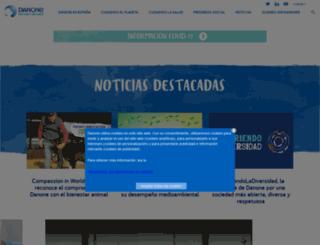 blog.danone.es screenshot