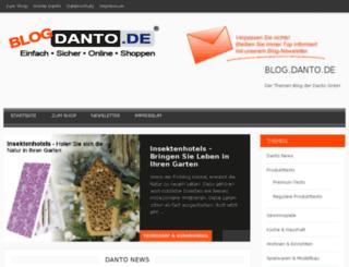 blog.dantotec.de screenshot