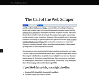 blog.databigbang.com screenshot