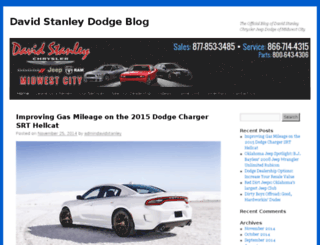 blog.davidstanleydodge.com screenshot