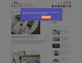 blog.dbsinternetmarketing.co.uk screenshot