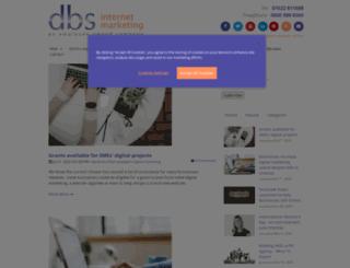 blog.dbsinternetmarketing.co.uk screenshot