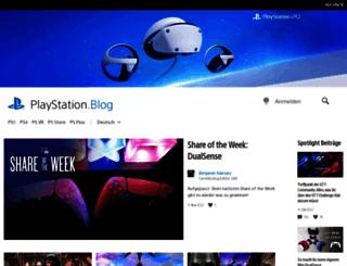 blog.de.playstation.com screenshot