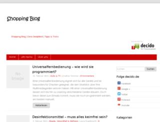 blog.decido.de screenshot