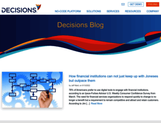 blog.decisions.com screenshot