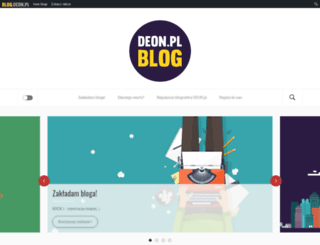 blog.deon.pl screenshot