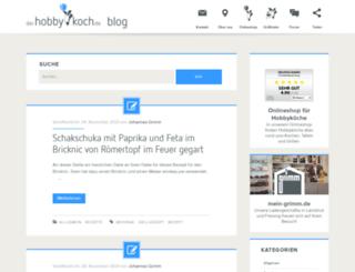 blog.derhobbykoch.de screenshot
