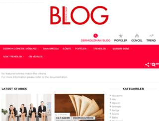 blog.dermouzman.com screenshot