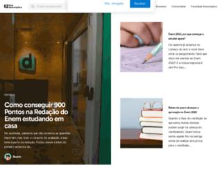 blog.descomplica.com.br screenshot
