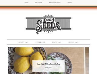 blog.design-seeds.com screenshot