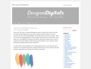 blog.designerdigitals.com screenshot