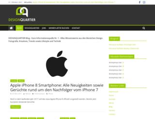 blog.designquartier.de screenshot