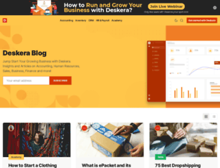 blog.deskera.com screenshot