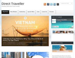 blog.directtraveller.com screenshot