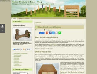 blog.diyshutters.com screenshot