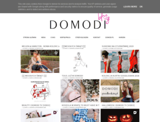 blog.domodi.pl screenshot