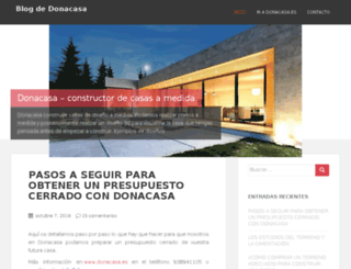 blog.donacasa.es screenshot