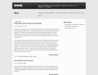 blog.donecollective.com screenshot