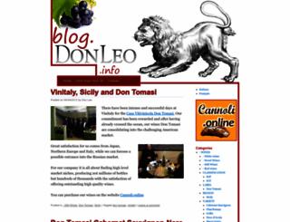 blog.donleo.info screenshot