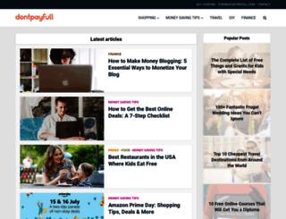 blog.dontpayfull.com screenshot