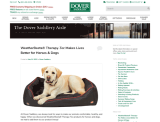 blog.doversaddlery.com screenshot