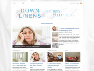 blog.downlinens.com screenshot