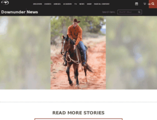 blog.downunderhorsemanship.com screenshot