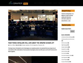blog.draperinc.com screenshot