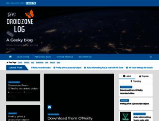 blog.droidzone.in screenshot