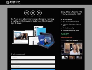 blog.dropshiplifestyle.com screenshot
