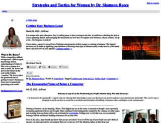 blog.drshannonreece.com screenshot