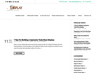 blog.dxpdisplay.com screenshot