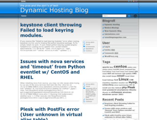 blog.dynamichosting.biz screenshot