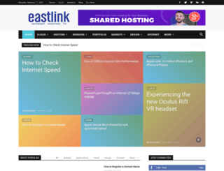 blog.eastlink.net.np screenshot