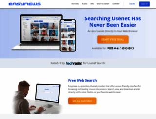 blog.easynews.com screenshot