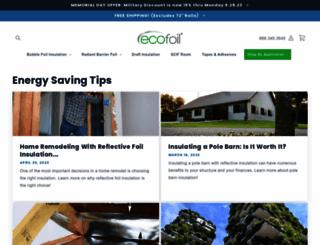blog.ecofoil.com screenshot