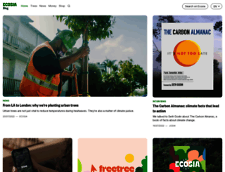 blog.ecosia.org screenshot