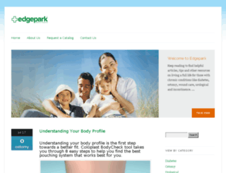 blog.edgepark.com screenshot