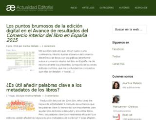 blog.ediciona.com screenshot