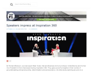 blog.efactor.com screenshot