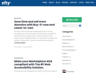 blog.efty.com screenshot