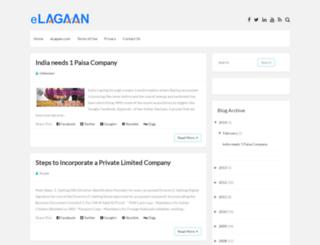 blog.elagaan.com screenshot