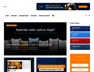 blog.elopage.com screenshot