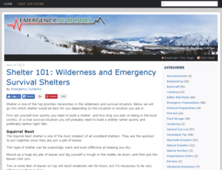 blog.emergencyoutdoors.com screenshot