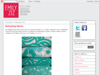 blog.emilyziz.com screenshot