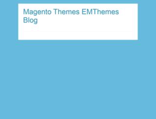 blog.emthemes.com screenshot