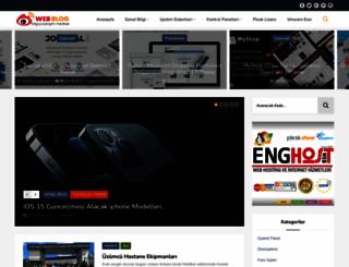 blog.enghost.org screenshot