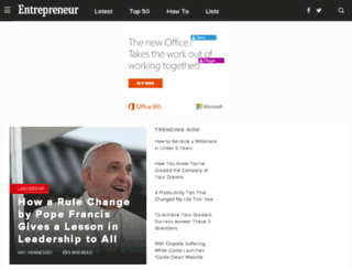 blog.entrepreneur.com screenshot